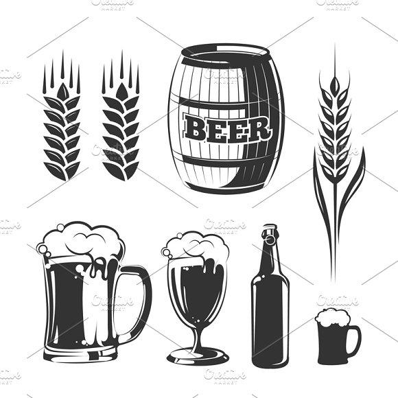 Elements For Beer Festival Labels
