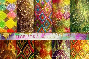 Sweetmeats Colors Glitter Textures