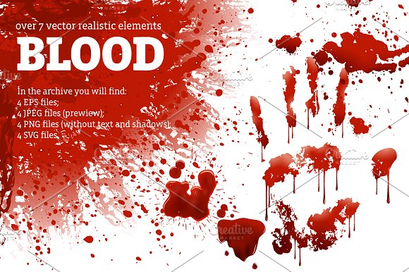 Blood Spots Set