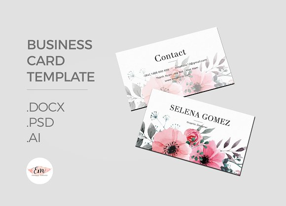Create Elegant Business Card