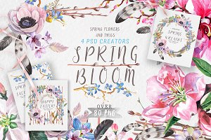 """Spring bloom"" 80 png"