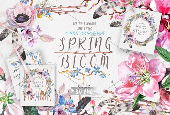 Spring Bloom 80 Png