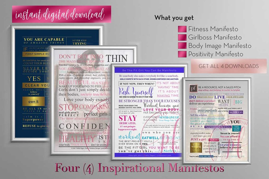 Manifesto Indesign Template Stationery Templates