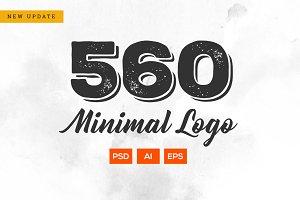 560 Minimal Logo - Bundle Update
