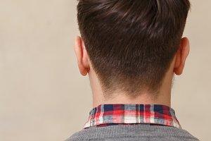 Men's haircut fashionable