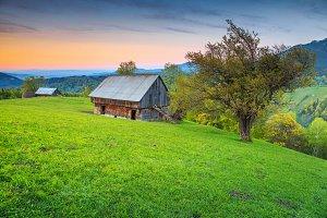 Transylvanian summer landscape