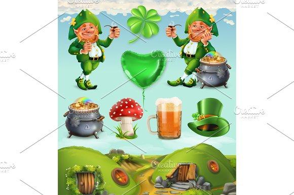 Feast Of Saint Patrick Vector