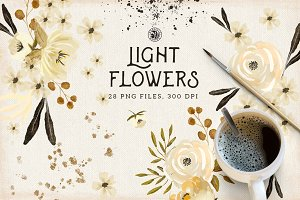 Light Flowers