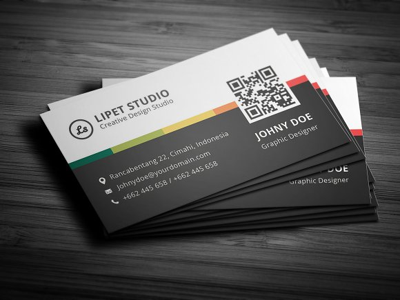 clean business card template business card templates creative market