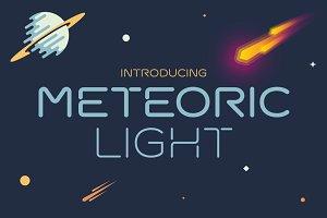 Meteoric Light Font
