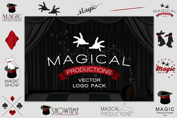 Magical Productions Magic Logo Pack
