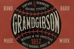 GrandGibson Typeface