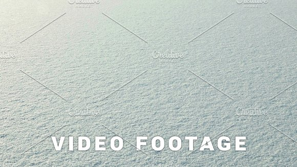 Snow On The Frozen Lake Clean And Frosty Daytime Smooth Dolly Shot