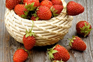 Fresh Forest Strawberries