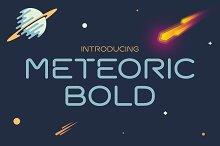 Meteoric Bold Font