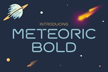 Meteoric Bold Font