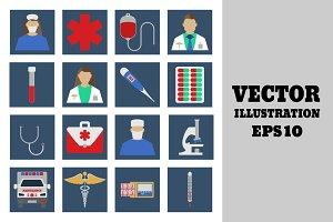 Medical Set.