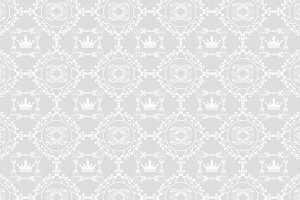 Royal wallpaper, pattern