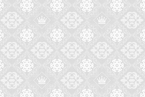 Wallpaper pattern, vintage