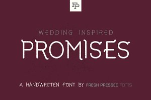 Promises Display Font