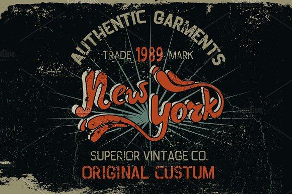 New York Grunge Label
