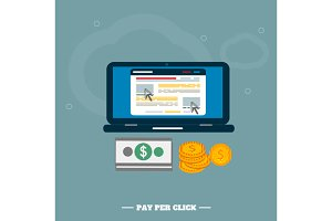 Pay per click internet advertising m