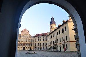 Monumental fortress of Nesvizh