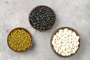 Assortment of dry beans