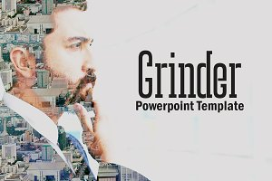 Grinder Powerpoint Template