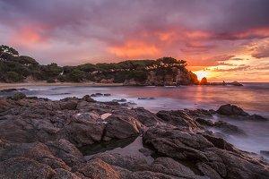 landscape sunrise
