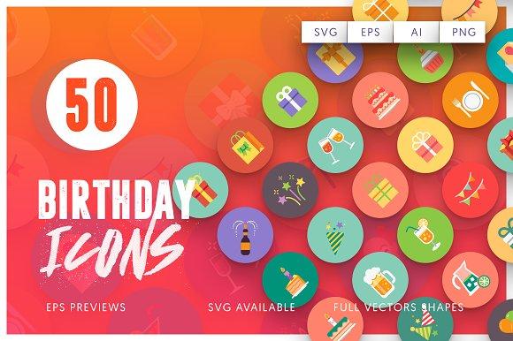 70% Off 50 Birthday Icons