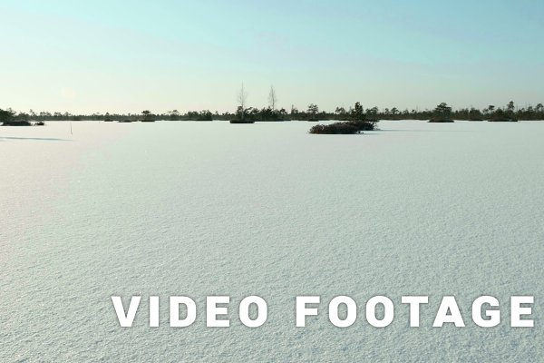 Frozen lake under the snow. Clean a…