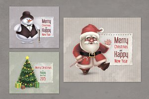 Vintage Christmas Greeting Cards