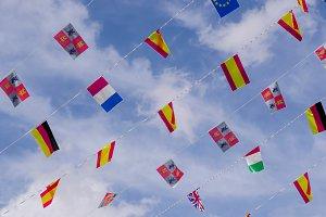 Festive flags