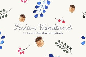Festive Woodland Patterns
