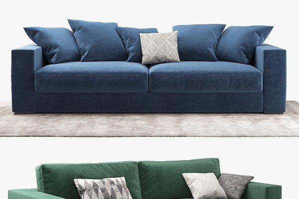 3D Models - sofa BoConcept Cenova