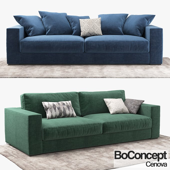 sofa boconcept cenova furniture on creative market. Black Bedroom Furniture Sets. Home Design Ideas