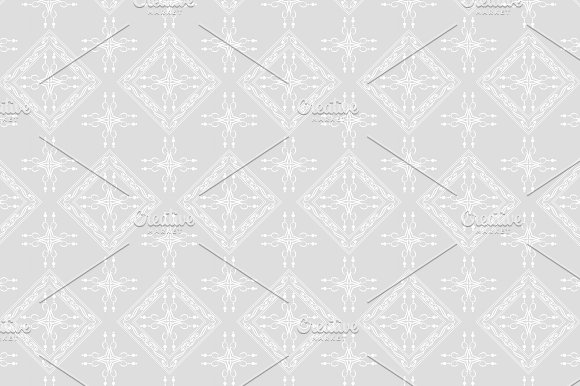 Grey And White Pattern Vector