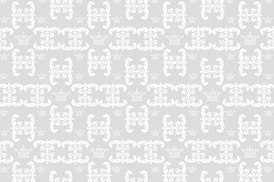 Grey and white pattern, retro