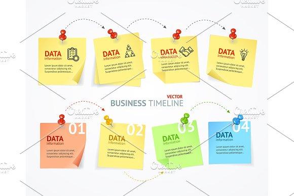 Business Pin Paper Menu