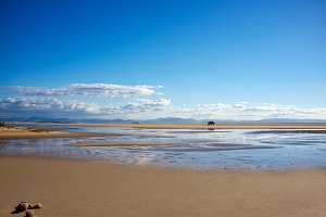 Los Lances Beach. Tarifa, Spain