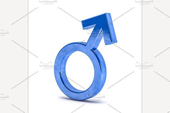Gender Symbols Of Man