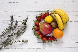 Mix of fresh fruits
