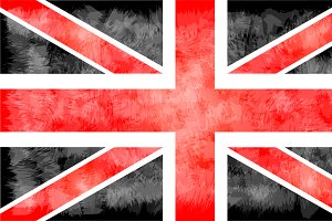 British flag vector 2