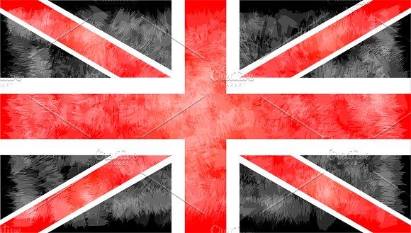 British Flag Vector 2