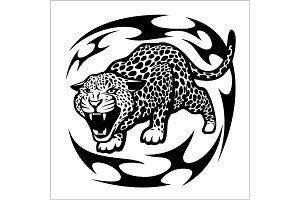 Jaguar Tribal Tattoo