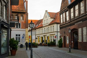 view of Luneburg, Germany