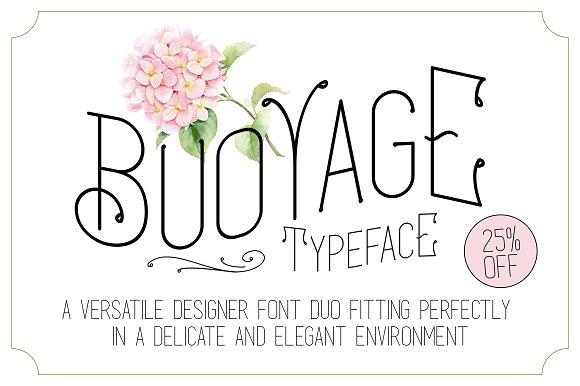 Buoyage Typeface Extras