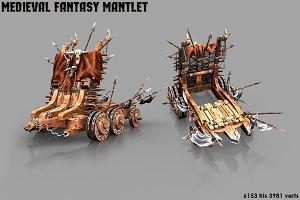 Medieval Mantlet