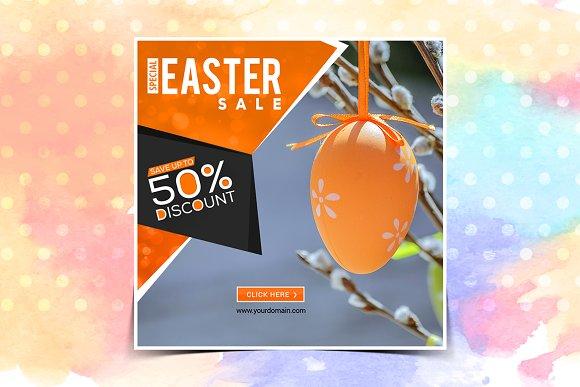 Easter Instagram Banner